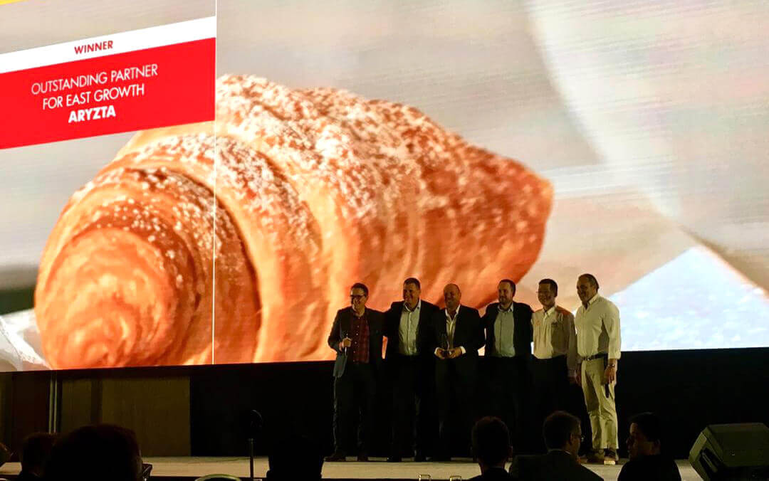 ARYZTA Wins Shell Global Award as Outstanding Partner in the Fresh Food Category