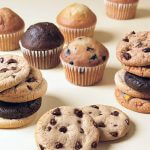Otis Spunkmeyer's range: Mini muffins and cookies