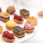 Coup de pates' range: Assortment of mini tarts, puffs and cakes