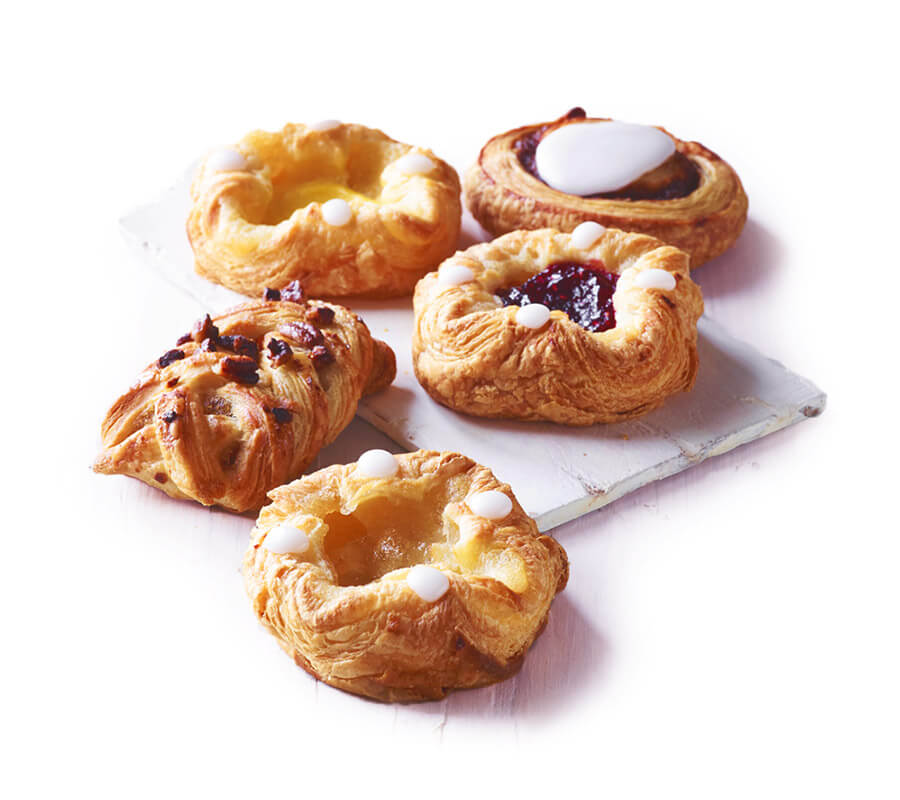 ARYZTA's on-the-go snacks: Mini Danish Selection